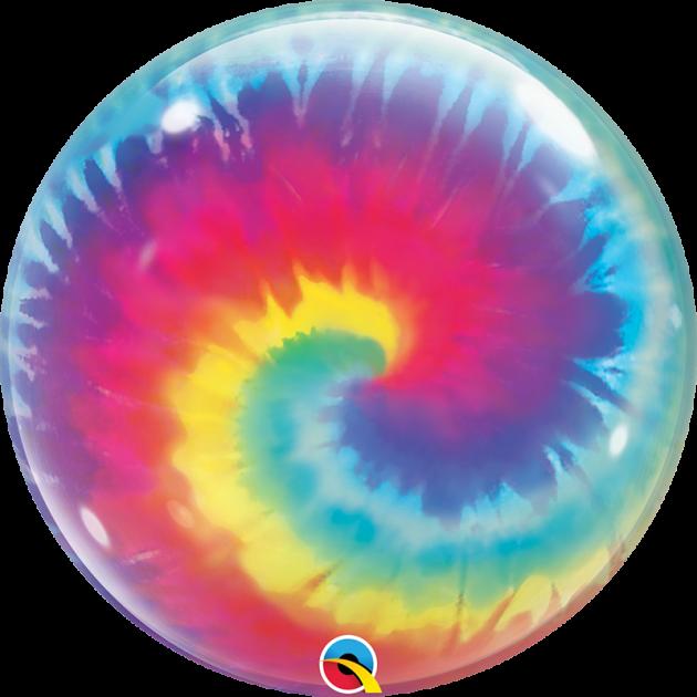 Qualatex 22吋特殊系列泡泡球/Tie Dye Swirls 1